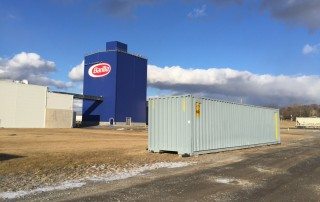 20' Custom Container outside Barilla Pasta