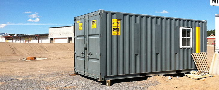 20' Office Storage Combo Containers