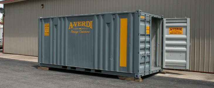 20' Quad Door Storage Container