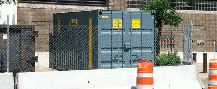 20' On-site Quad Door Storage