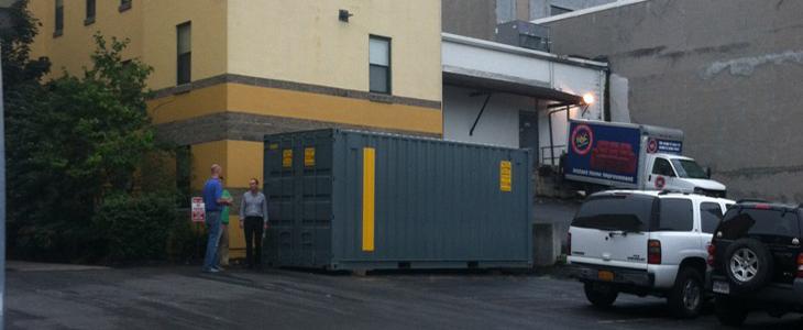 Ground Level Quad Door Storage