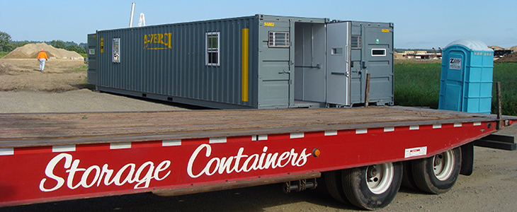 40' Portable Office Container