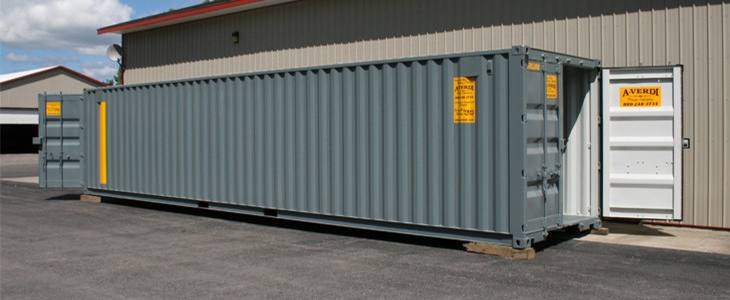 40' Quad Door Storage Container