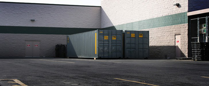 40' High Cube Storage Container