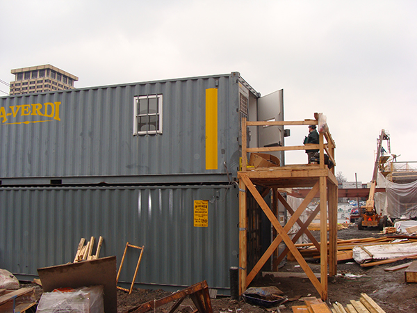Stacking Office and Storage Containers