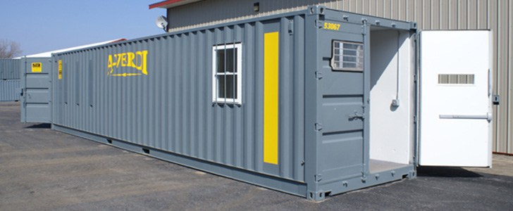 Our Ground Level Office Containers provide on-site office space for commercial construction u0026 industrial customers. Our temporary office units are made ... & Office u0026 Storage Containers for Sale u0026 Rent - Local NY | A-Verdi