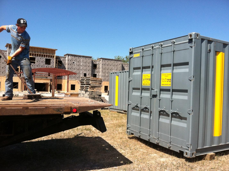 Jobsite Security How Ground Level Storage Can Help A Verdi