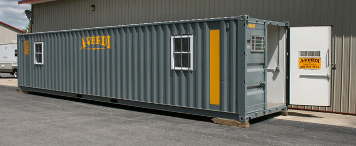 Office Containers On Site Ground Level Offices A Verdi