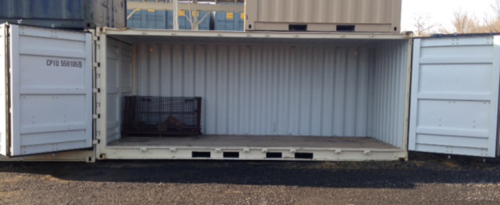 Specialty Ground Level Office and Storage Containers