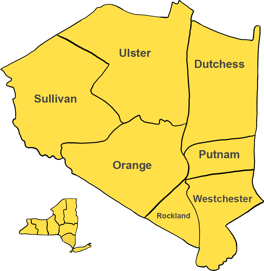 Hudson Valley Region including Middletown and Warwick